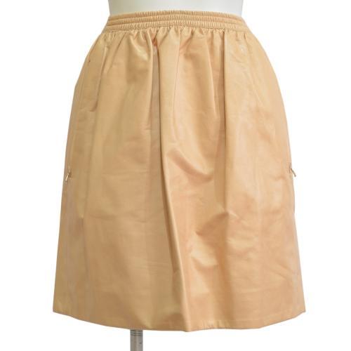 ラムレザースカートの写真