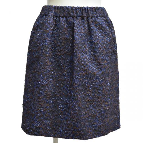 ジャガードギャザースカートの写真