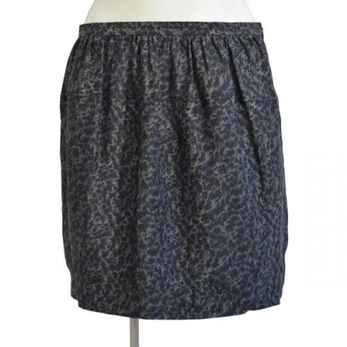 シルクプリントスカートの写真