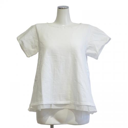 裾シルクカットソーの写真