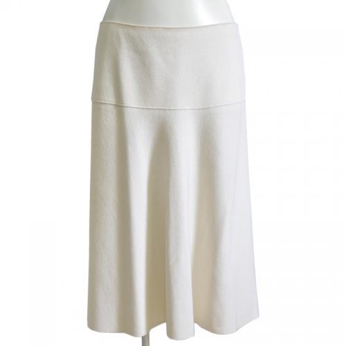 ウールカシミヤフレアスカートの写真