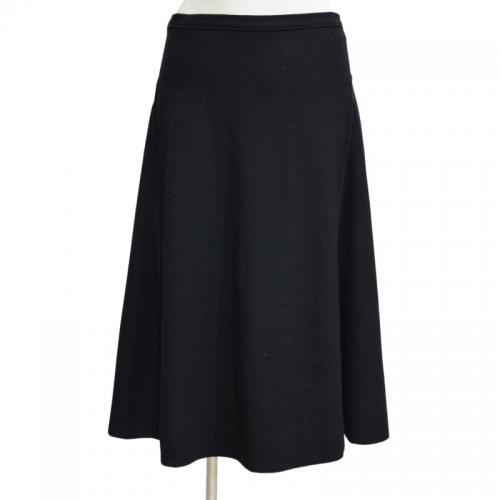ウールミモレ丈スカートの写真