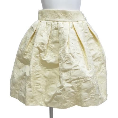ジャガードスカートの写真