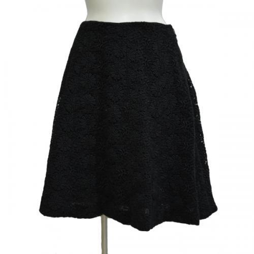 レーススカート(黒)の写真