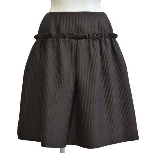 キルティングスカートの写真