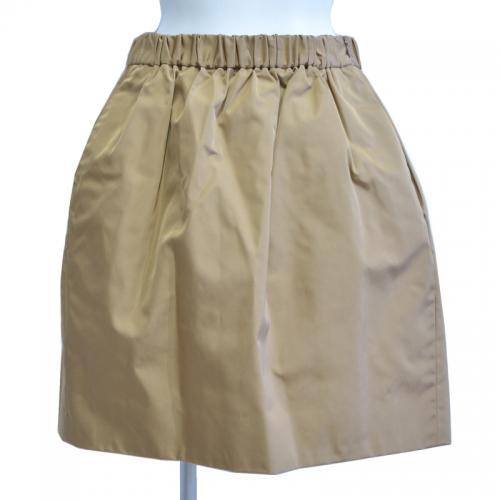 シルクギャザースカートの写真